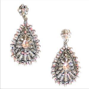Jewelry - Pink Glass Bead Earrings